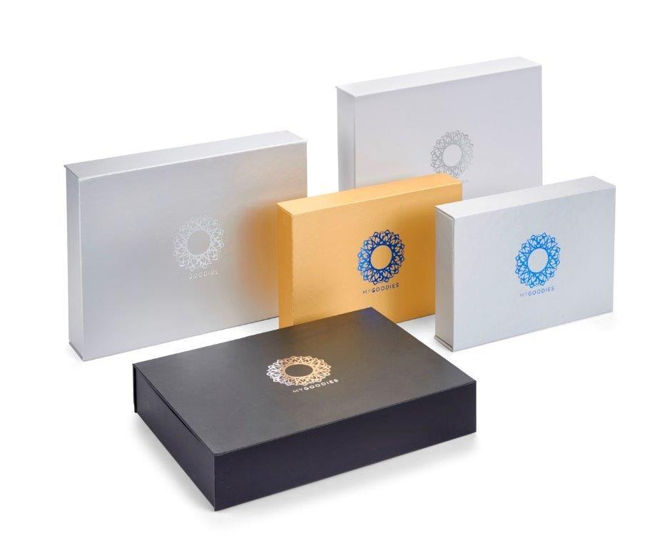 קופסאות קשיחות שניתן להטביע לוגו על פי דרישות הלקוח